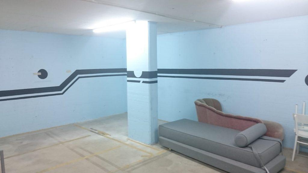 So sah der Raum vorher aus..